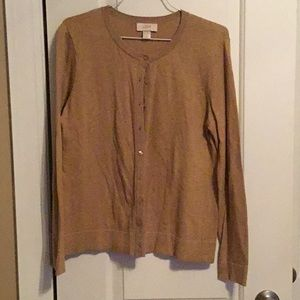 Loft Tan Sweater